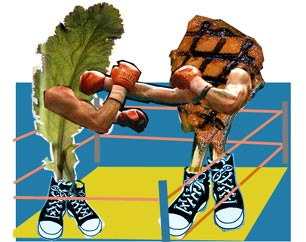non vegetarian vs vegetarian essay titles