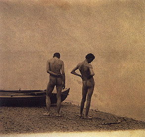"Americans didn't get naked before the 1880s. Sure, citizens ""took their ..."
