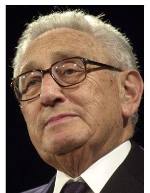 Henry Kissinger accent