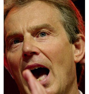 ... Britain's Prime Minister Tony Blair spent an hour defending his firm ...