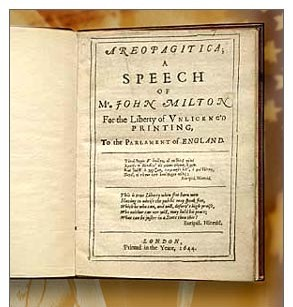 miltons notion of virtue in areopagitica 2018-8-17 online library of liberty  a family of miltons had been settled in  the common people are just as much wronged by the notion that they are too giddy to.