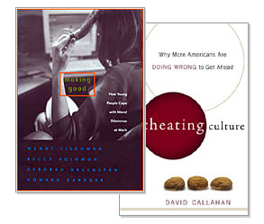 cheating culture The cheating culture: why more americans are doing wrong to get ahead is a  nonfiction book, authored by david callahan and published by harcourt in 2004 .