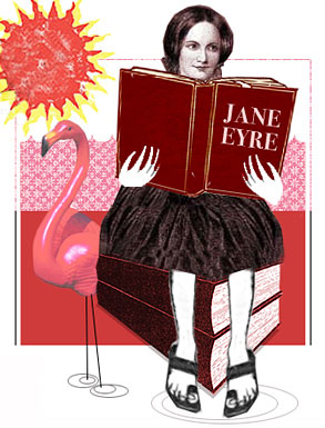 the ups and downs in the life of jane in jane eyre a novel by charlotte bronte Jane eyre charlotte brontë's jane eyre is  creepy adaptation of the renowned novel  allows the audience to understand the ups and downs of a.