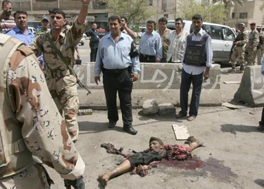 soldiers iraq us Dead in