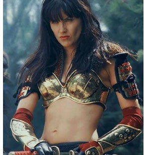Xena AngryXena Warrior Princess Angry