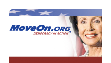 MoveOn moves in with Pelosi