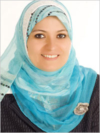 Veiled by a hijab, Dr. Heba Kotb appears weekly on a hit Arab TV show ...