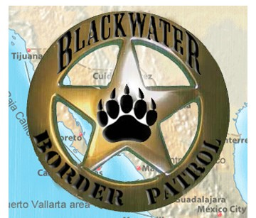 Blackwater's run for the border