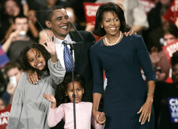 Barack Obama's breakthrough victory