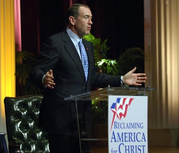 Huckabee's radical religious friends