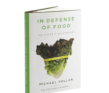 Michael Pollan's manifesto on eating well
