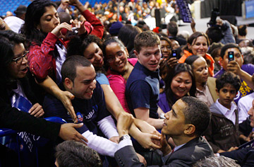 Will the youth vote win it for Obama this fall?
