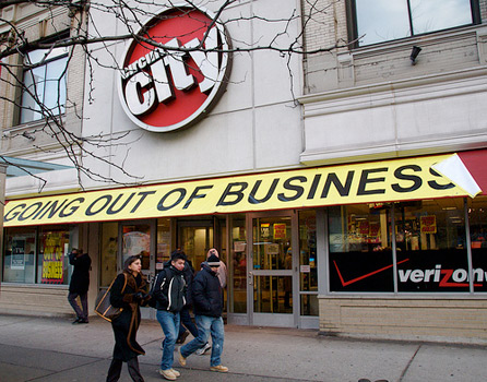 The Plug Is Pulled On Circuit City
