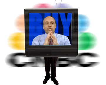 Why is Jim Cramer shouting at me?