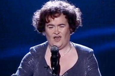 Susan Boyle loses! And still wins!