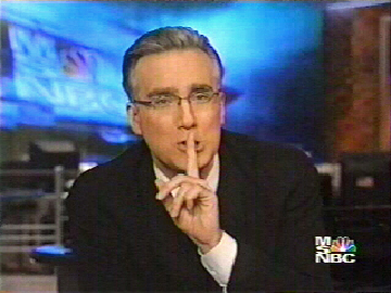 GE's silencing of Olbermann and MSNBC's sleazy use of Richard Wolffe