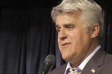 Jay Leno's new role? NBC insult comic -- and the network's not amused