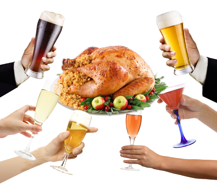 Thanksgiving Drinking: Surprise Pairings: Turkey Day Drinks For The Bold