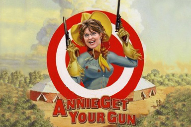 The Annie Oakley of American politics