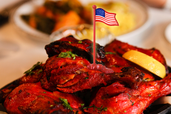 Can indian food conquer america for American cuisine topic