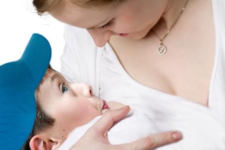 Breastfeeding grade-schoolers:
