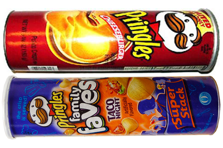 proctor and gamble italy pringles launch