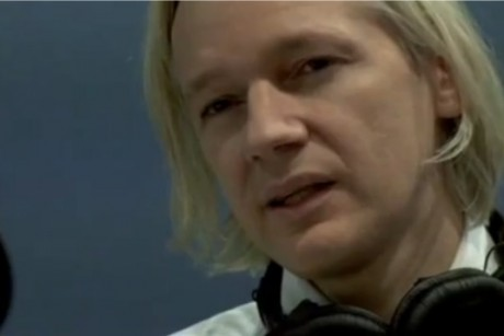 Julian Assange, editor of WikiLeaks.