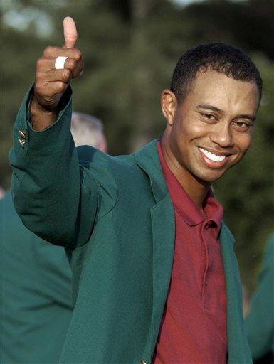 hoe groot is Tiger Woods Cock
