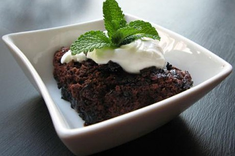 Fudgy pudding cake recipe