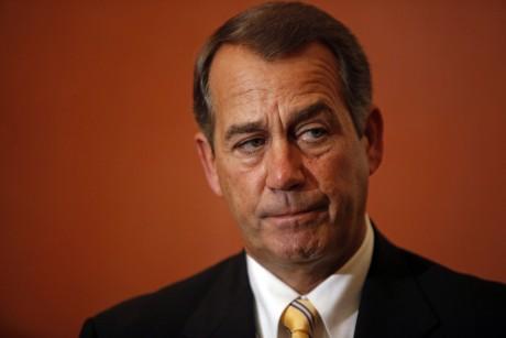 John Boehner slams Goldman Sachs' clout -- but pockets its cash
