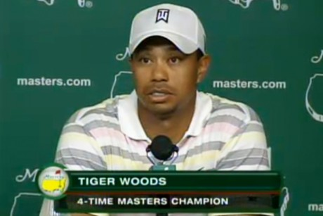 Tiger Woods speaks as Masters week kicks off