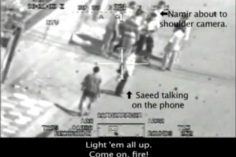 Previously classified footage of a July 2007 attack by U.S. Apache helicopters that killed a Reuters journalist and several other non-insurgents was published on WikiLeaks Monday afternoon.