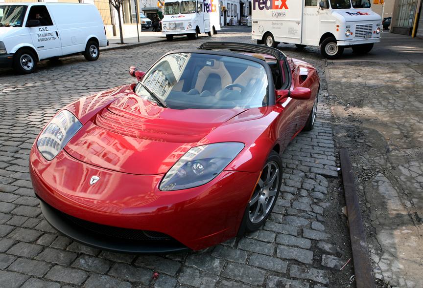 A Tesla Toyota Electric Dream Machine