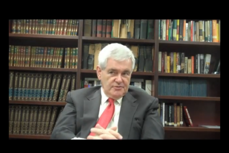 Newt Gingrich tries desperately to stay relevant