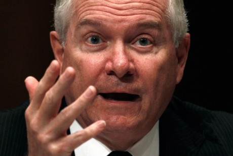 Robert Gates plants a newspaper column
