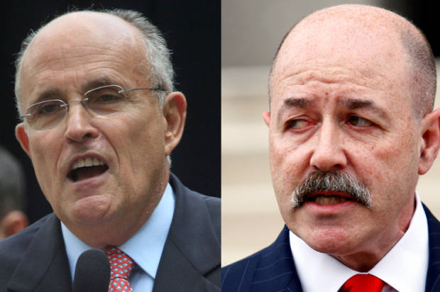 from Alejandro gay picture of guliani and kerik