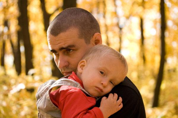 sad dads even men get baby blues saloncom
