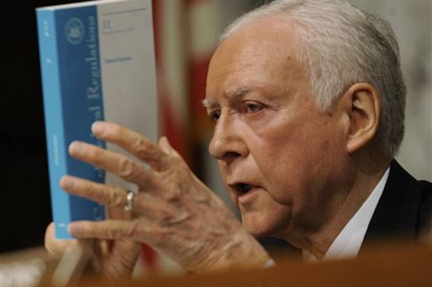 orrin singles There have been very few times in my life where a single statement solidified my opinion on a complicated issue but  wondering if this is really orrin hatch's.