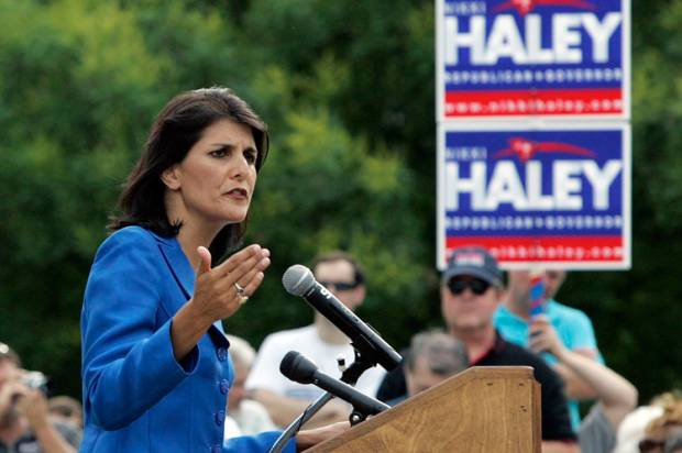 "Nikki Haley: It's OK to have the Confederate flag at the statehouse because not ""a single CEO"" has complained"