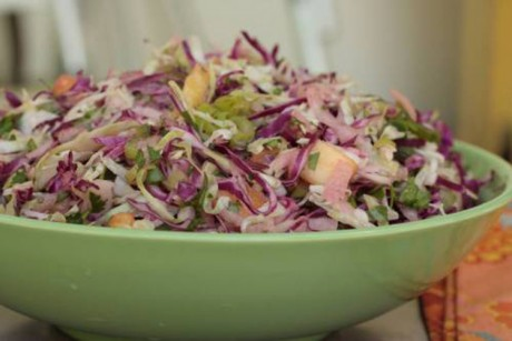 Sweet, sour, spicy Mexican slaw