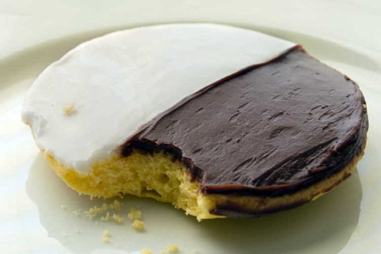 Half Moon Cookies Recipe Cake Mix