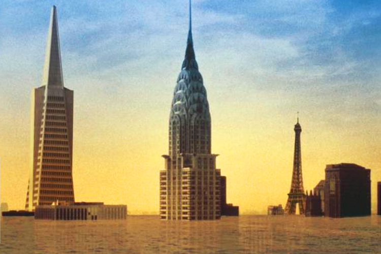 """""""The Flooded Earth"""": Which of our cities can be saved ..."""