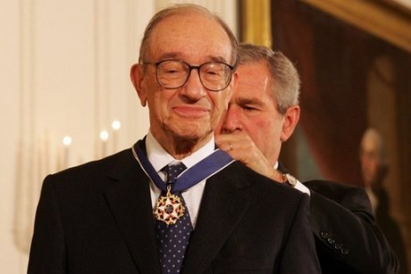 Alan Greenspan isn't making sense