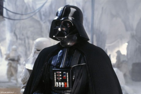 Darth Vader robs bank at gunpoint