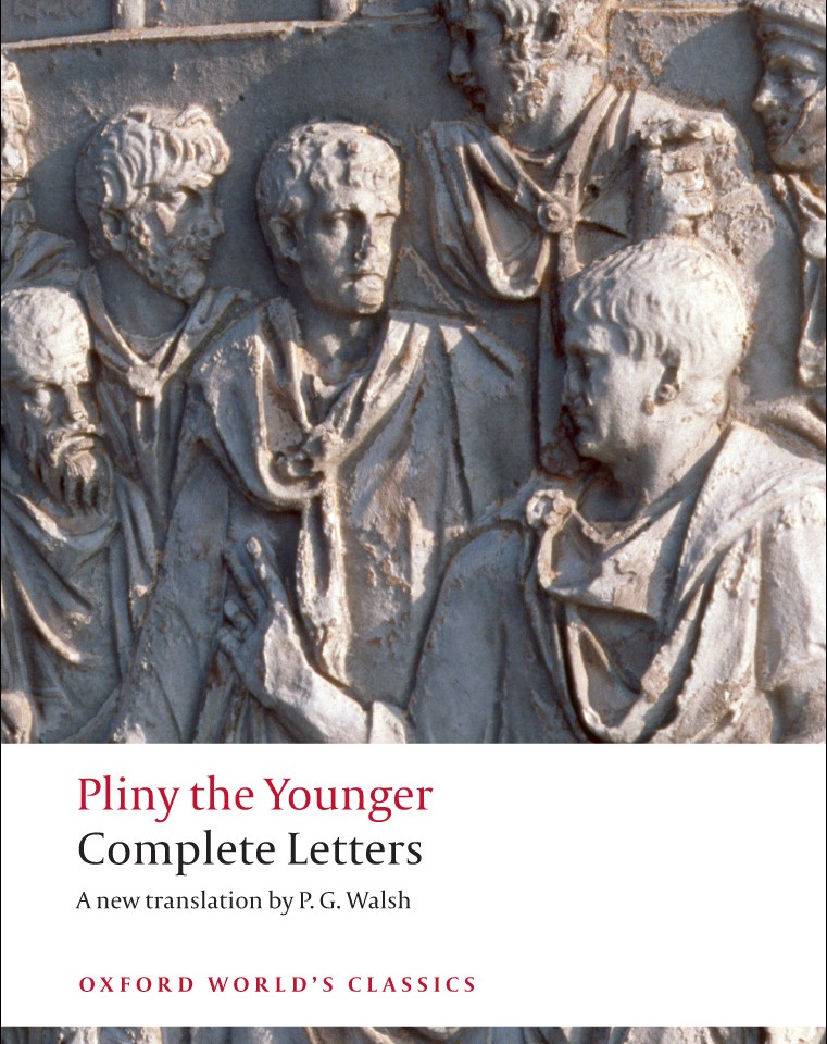 Pliny the younger letters analysis essay