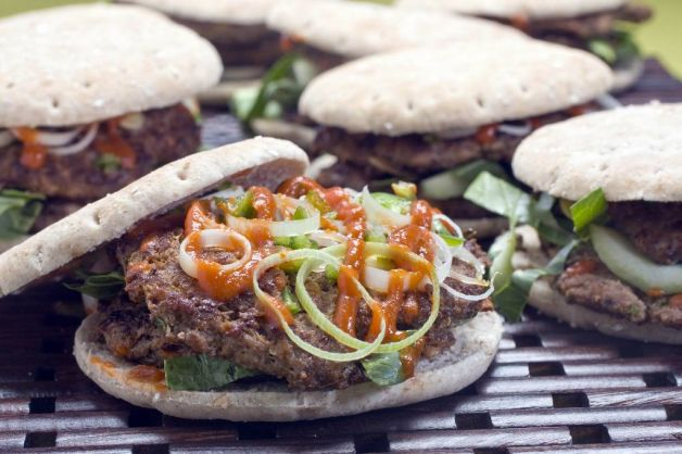 Spicy chinese burger recipe salon forumfinder Image collections