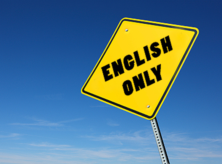 I need an example for english?