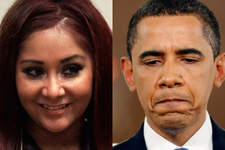 Obama should apologize to Snooki!