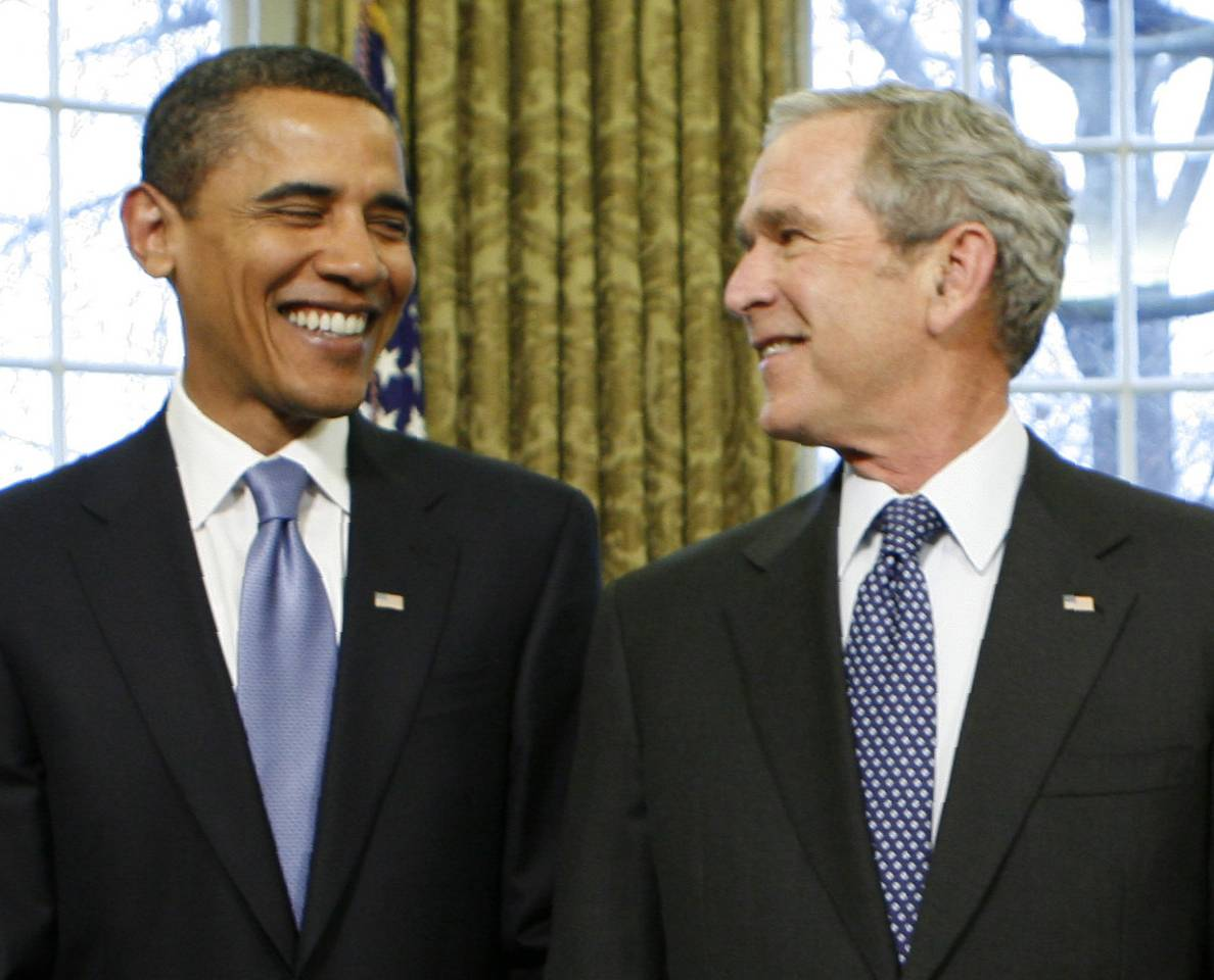 a comparison of the bush and obama doctrines in the context of controlling terrorism Critics of the bush administration faulted it for being aligned too closely with gorbachev and too willing to compromise many thought that bush should have made more overtures to boris yeltsin, the president of russia who often wanted reforms to proceed more quickly than gorbachev and eventually oversaw much of russia's transition away from communism.