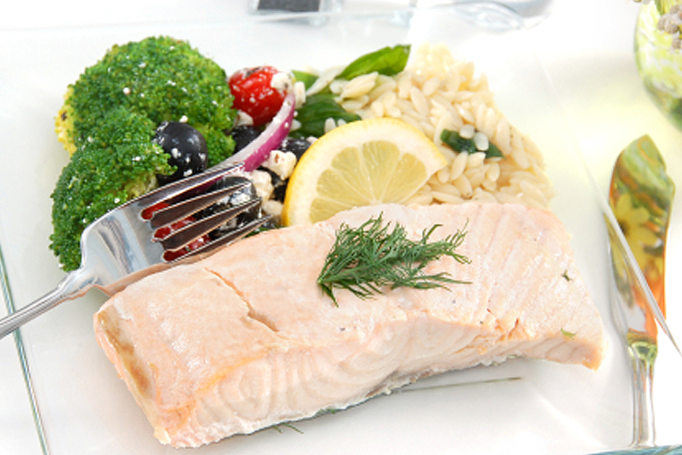 poached salmon | Forest of Arden | Pinterest